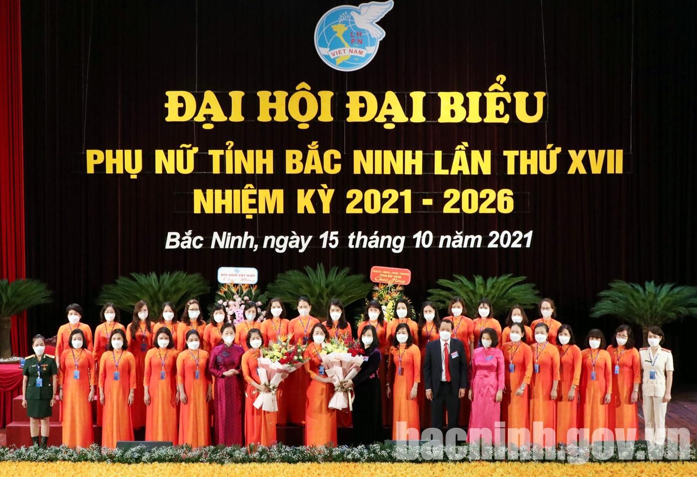 Đại hội đại biểu Phụ nữ tỉnh khóa XVII, nhiệm kỳ 2021 - 2026