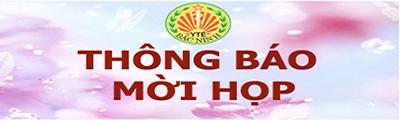 thong bao moi hop