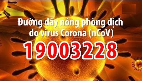 coronavirut đường dây nóng